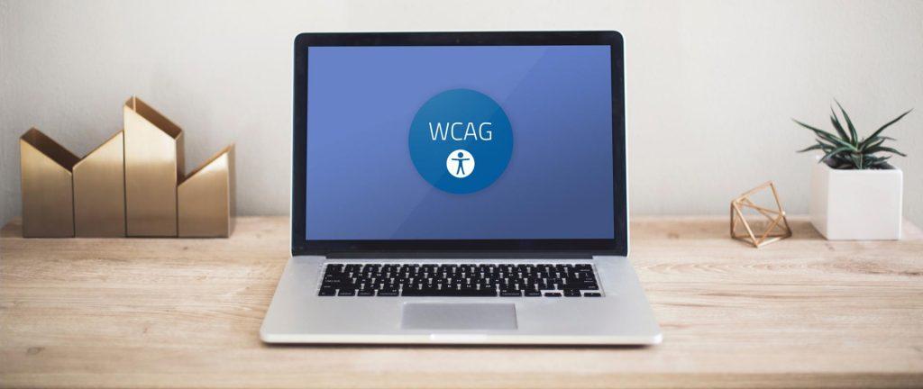 Zdjęcie z logotypem WCAG.